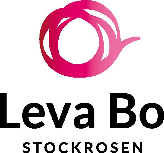 Leva Bo Stockrosen logotyp